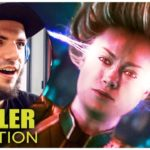 CAPTAIN MARVEL Trailer Reaction (German Deutsch) 2019