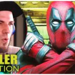 DEADPOOL 2 Trailer 3 Reaction (German Deutsch)